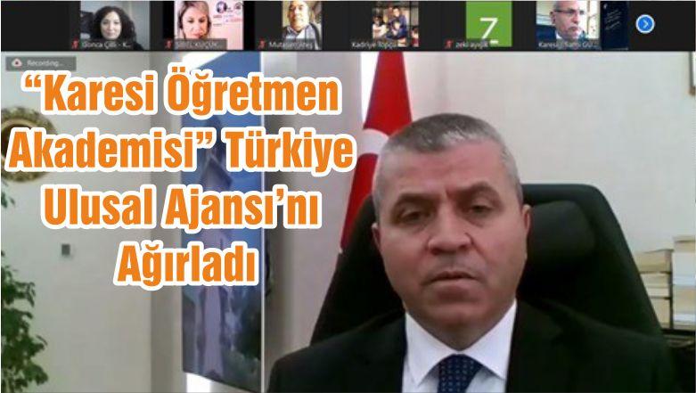 """""""Karesi Öğretmen Akademisi"""" Türkiye Ulusal Ajansı'nı Ağırladı"""