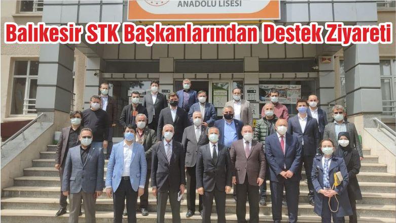 Balıkesir STK Başkanlarından Destek Ziyareti