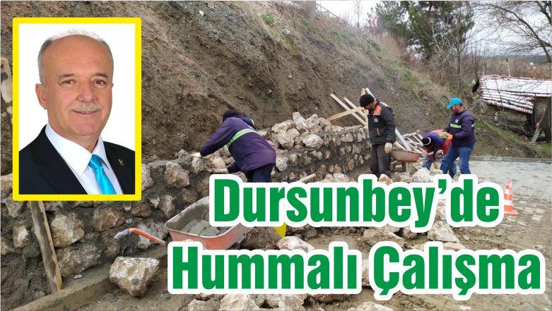 Dursunbey'de Hummalı Çalışma