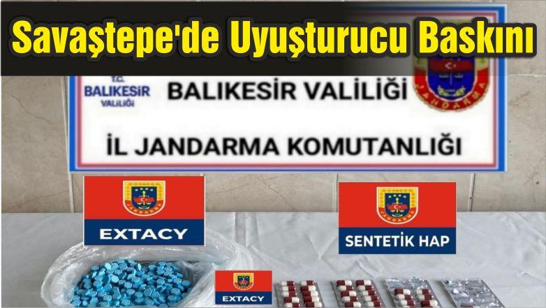 Savaştepe'de Uyuşturucu Baskını