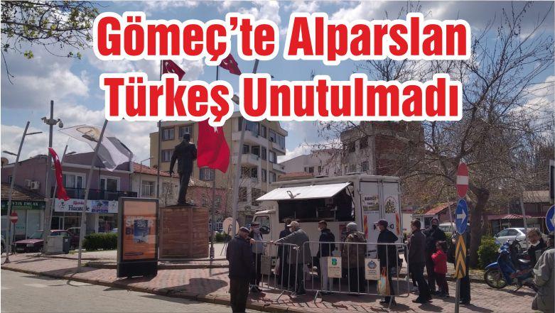 Gömeç'te Alparslan Türkeş Unutulmadı