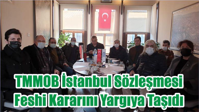 TMMOB İstanbul Sözleşmesi Feshi Kararını Yargıya Taşıdı