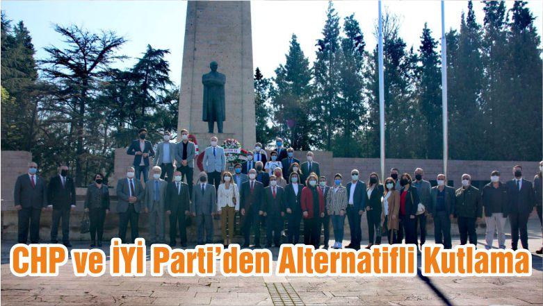 CHP ve İYİ Parti'den Alternatifli Kutlama