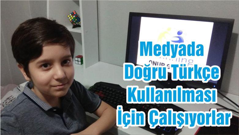 Medyada Doğru Türkçe Kullanılması İçin Çalışıyorlar
