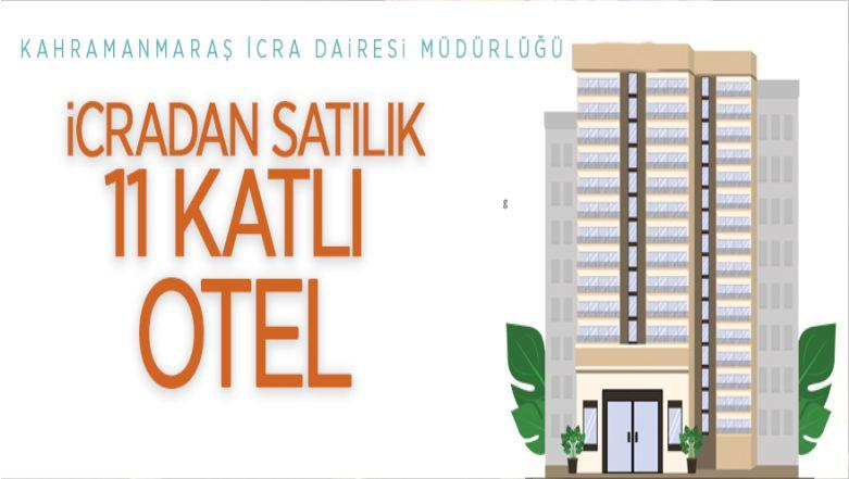 İcradan Satılık 11 Katlı Otel