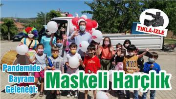 Pandemide Bayram Geleneği: Maskeli Harçlık