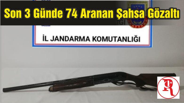 Balıkesir'de Son 3 Günde 74 Aranan Şahsa Gözaltı