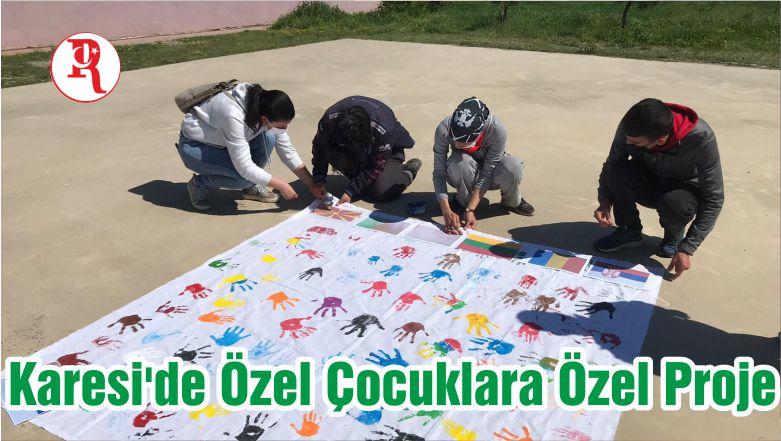 Karesi'de Özel Çocuklara Özel Proje