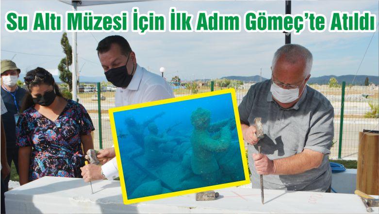 Balıkesir'e Su Altı Müzesi İçin İlk Adım Gömeç'te Atıldı