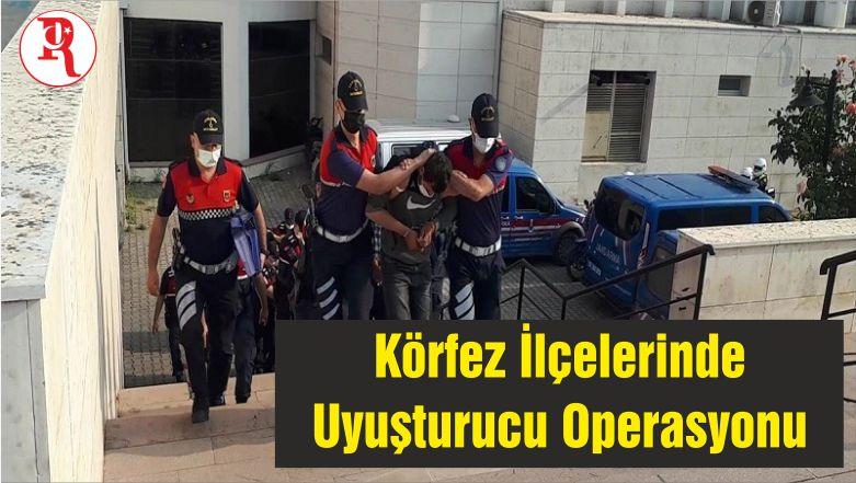 Balıkesir'in Körfez İlçelerinde Uyuşturucu Operasyonu