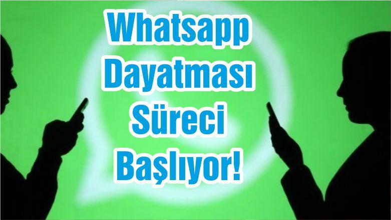 Whatsapp Dayatması Süreci Başlıyor!