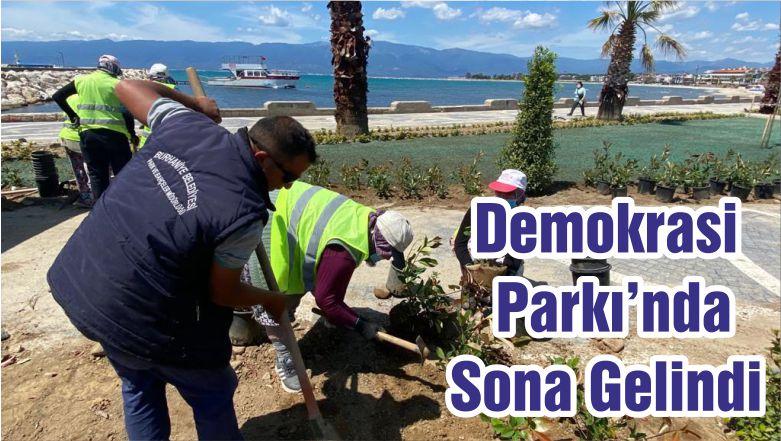 Demokrasi Parkı'nda Sona Gelindi