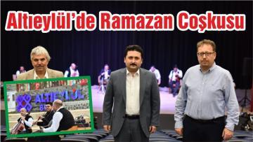 Altıeylül'de Ramazan Coşkusu