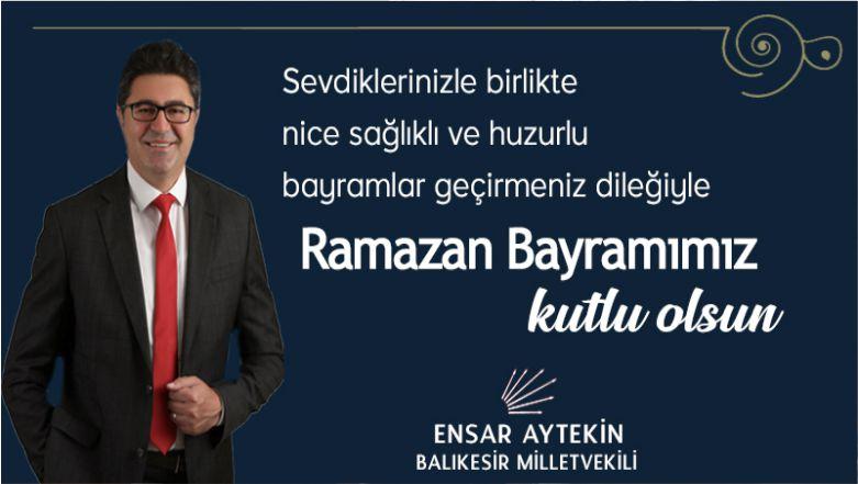 CHP'li Aytekin'den Bayram Mesajı