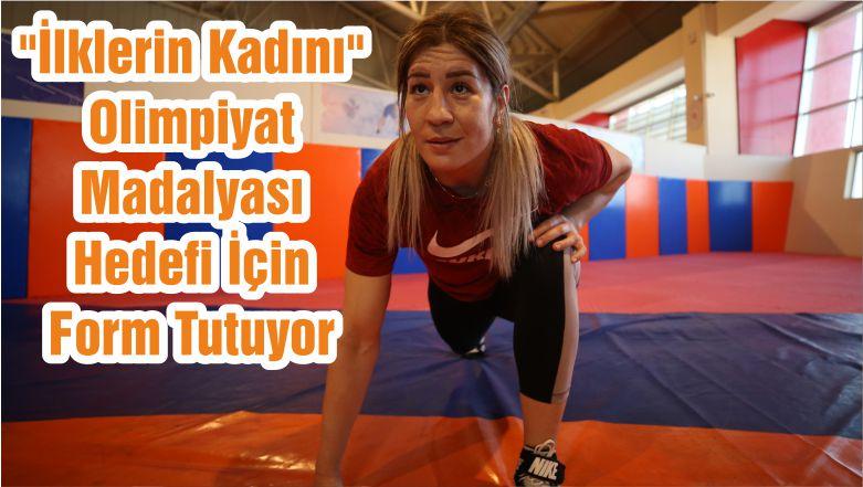 """""""İlklerin Kadını"""" Olimpiyat Madalyası Hedefi İçin Form Tutuyor"""
