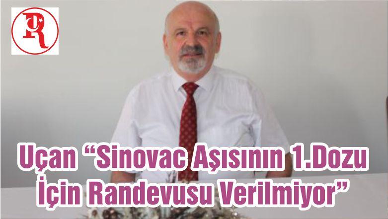 """Uçan """"Sinovac Aşısının 1.Dozu İçin Randevusu Verilmiyor"""""""