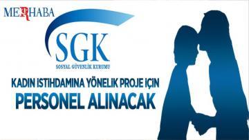 Kadın İstihdamına Yönelik Proje İçin Personel Alınacak