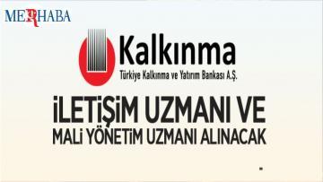 Türkiye Kalkınma ve Yatırım Bankası Bireysel Danışman Alacak