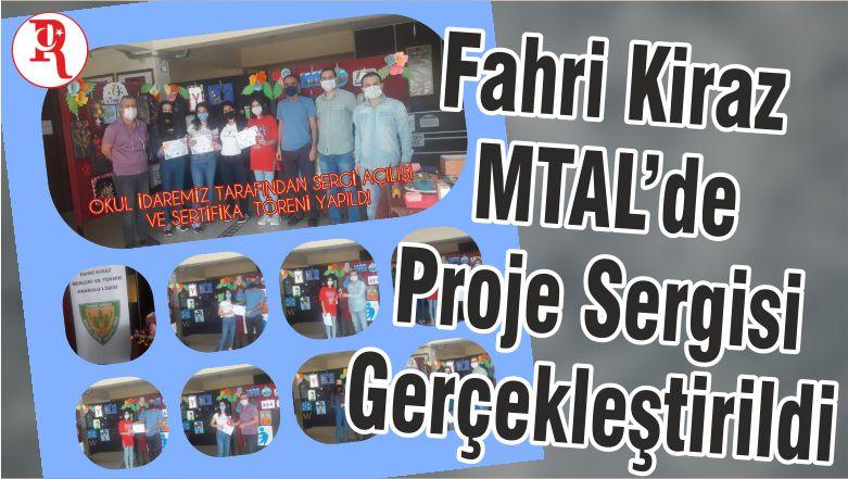 Fahri Kiraz MTAL'de Proje Sergisi Gerçekleştirildi