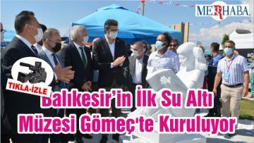 Balıkesir'in İlk Su Altı Müzesi Gömeç'te Kuruluyor