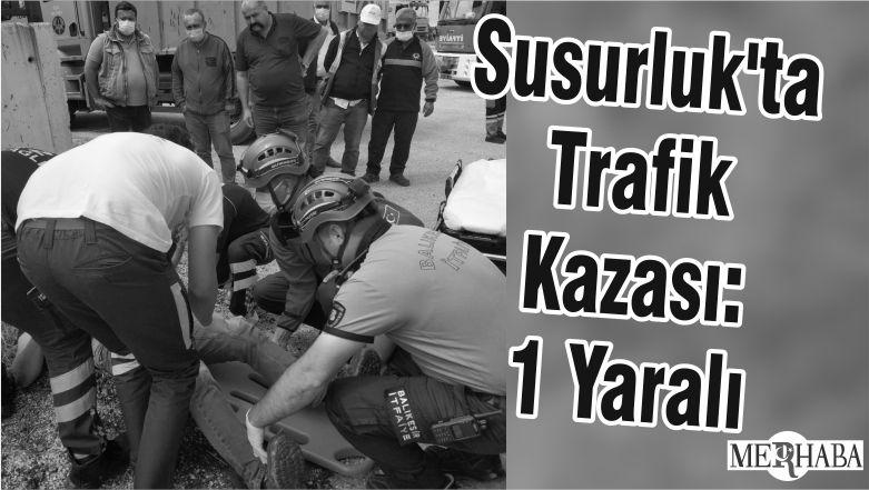 Susurluk'ta Trafik Kazası: 1 Yaralı