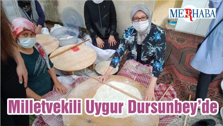 Milletvekili Uygur Dursunbey'de