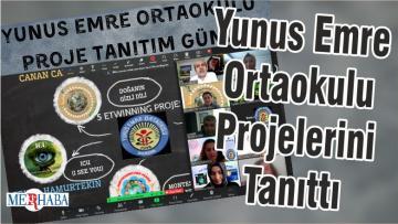 Yunus Emre Ortaokulu Projelerini Tanıttı