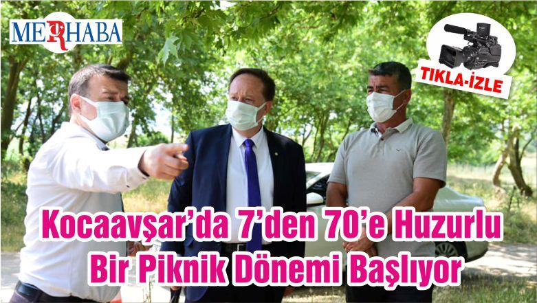Kocaavşar'da 7'den 70'e Huzurlu Bir Piknik Dönemi Başlıyor