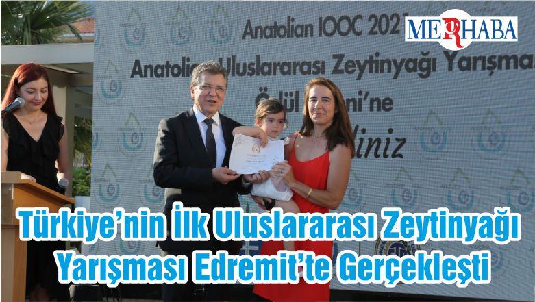 Türkiye'nin İlk Uluslararası Zeytinyağı Yarışması Edremit'te Gerçekleşti