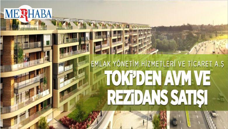 TOKİ İstanbul Koruflorya'daki AVM Ve Rezidansları Satıyor