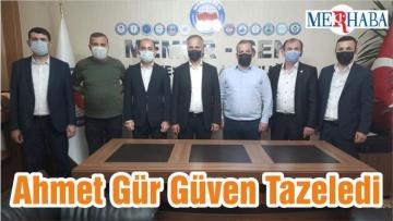 Ahmet Gür Güven Tazeledi