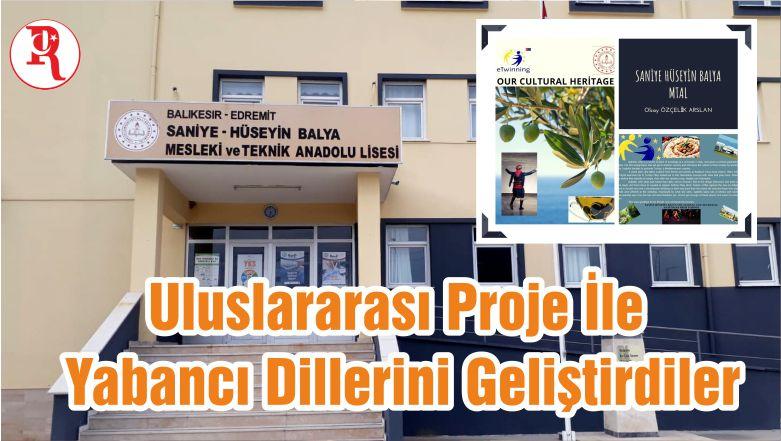 Uluslararası Proje İle Yabancı Dillerini Geliştirdiler