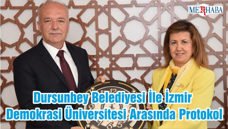 Dursunbey Belediyesi İle İzmir Demokrasi Üniversitesi Arasında Protokol