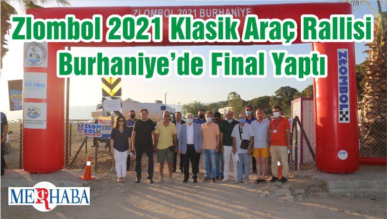 Zlombol 2021 Klasik Araç Rallisi Burhaniye'de Final Yaptı