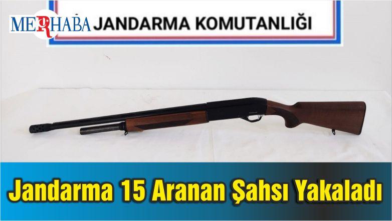 Balıkesir'de Jandarma 15 Aranan Şahsı Yakaladı