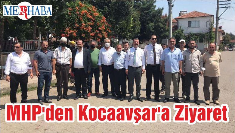 MHP'den Kocaavşar'a Ziyaret