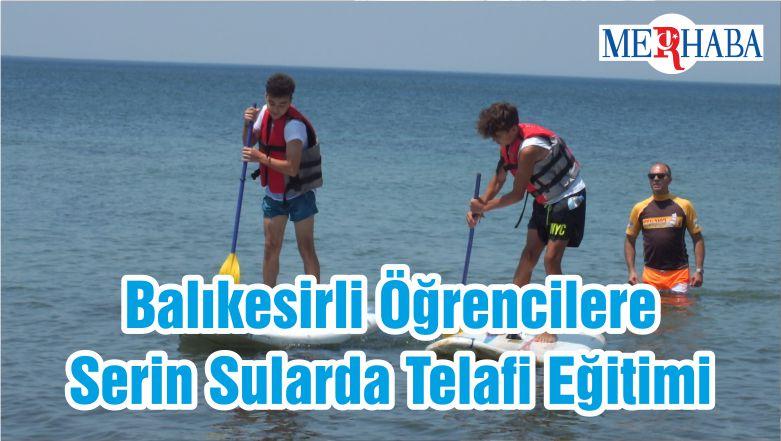 Balıkesirli Öğrencilere Serin Sularda Telafi Eğitimi