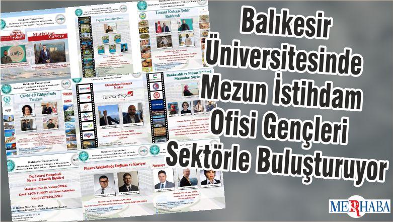 Balıkesir Üniversitesinde Mezun İstihdam Ofisi Gençleri Sektörle Buluşturuyor