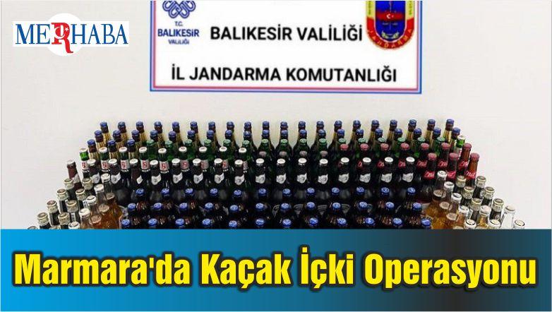 Marmara'da Kaçak İçki Operasyonu