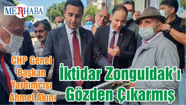CHP Genel Başkan Yardımcısı Ahmet Akın: İktidar Zonguldak'ı Gözden Çıkarmış