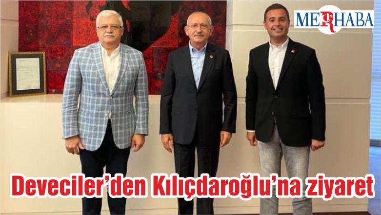Deveciler'den Kılıçdaroğlu'na ziyaret