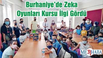 Burhaniye'de Zeka Oyunları Kursu İlgi Gördü