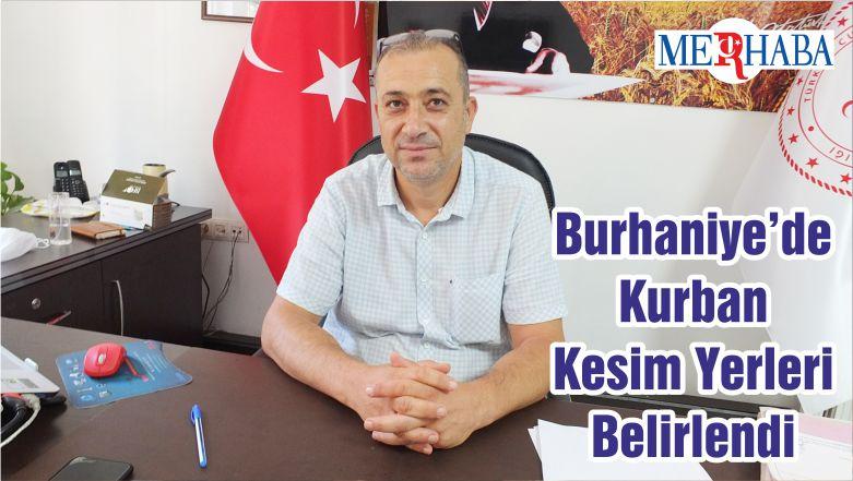 Burhaniye'de Kurban Kesim Yerleri Belirlendi