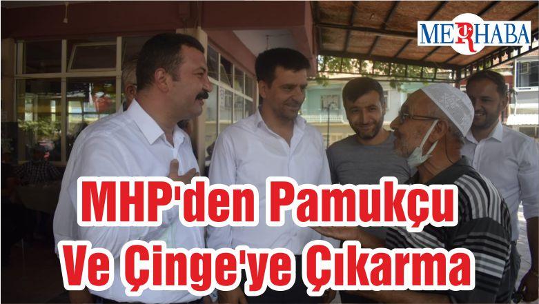 MHP'den Pamukçu Ve Çinge'ye Çıkarma