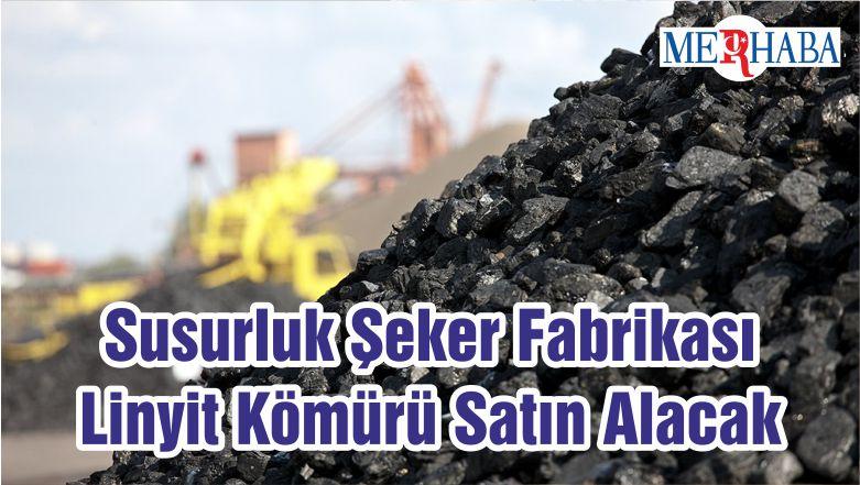Susurluk Şeker Fabrikası Linyit Kömürü Satın Alacak
