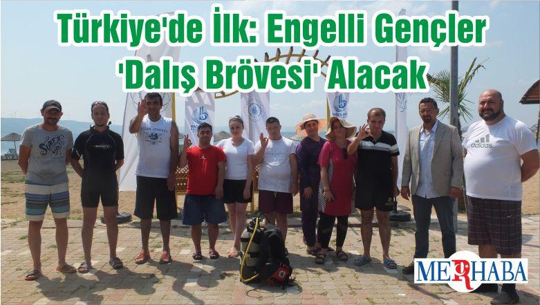 Türkiye'de İlk: Engelli Gençler 'Dalış Brövesi' Alacak