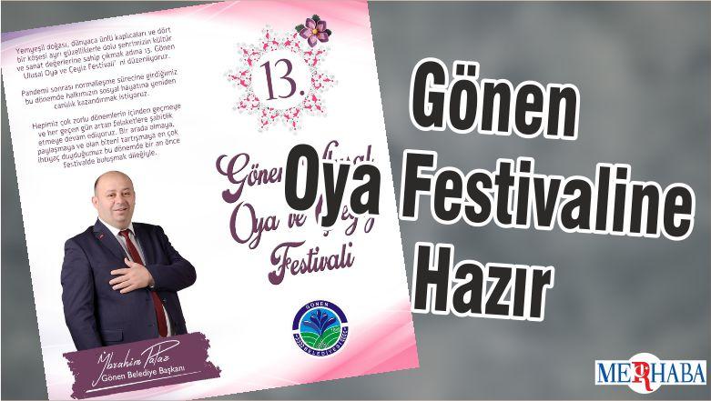 Gönen Oya Festivaline Hazır