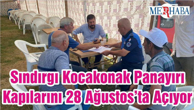 Sındırgı Kocakonak Panayırı Kapılarını 28 Ağustos'ta Açıyor
