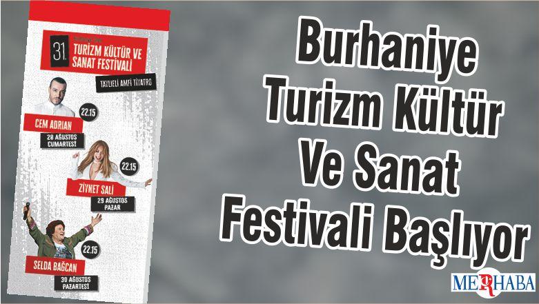 Burhaniye Turizm Kültür Ve Sanat Festivali Başlıyor