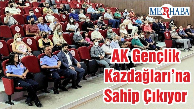 AK Gençlik Kazdağları'na Sahip Çıkıyor